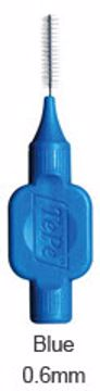 TePe mellomrumsbørste-klinikk blå str 3 0,6mm