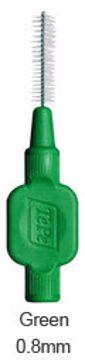 TePe mellomrumsbørste-klinikk grønn str 5