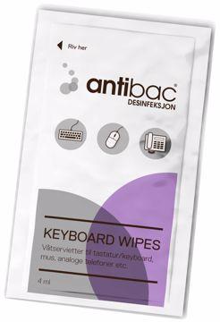 Antibac Keyboard Wipes 603025
