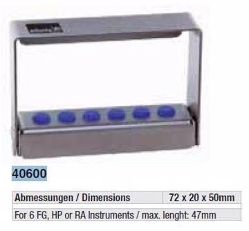 Borholder m/skytelokk 40600