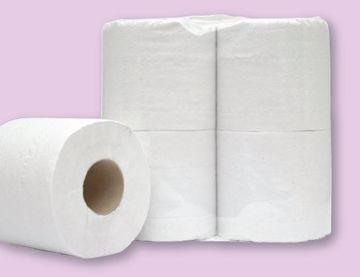 Prestige Toalettpapir 2-lags hvit 239040
