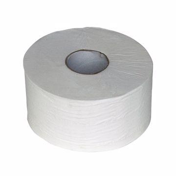 Prestige Jumbo Toalettpapir 2-lags hvit 240018