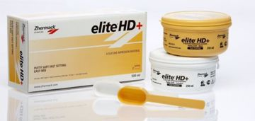 Elite HD+ Putty soft Fast Set Hvit/gul C203010