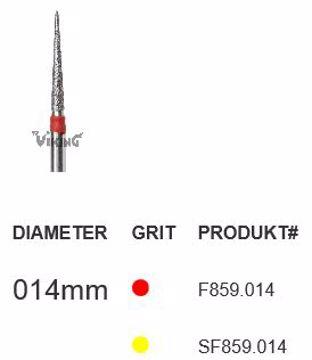 Diamant bor Viking SF859 014 FG spiss flamme
