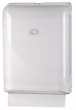 Dispensertil Prestige Z-fold hvit/plast 431101