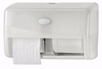 Dispensertil Prestige Toalett hvit/plast 431002