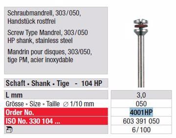 Mandrill disc 4001HP