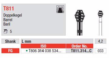 Turbodiamant bor T811 314 033C