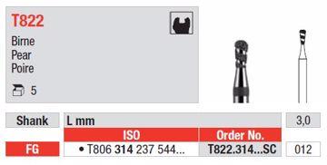 Turbodiamant bor T822 314 012SC