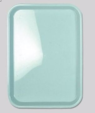 Premium bakke flat plast green
