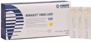 Miraject Endo Luer 30G Fine gul  254222