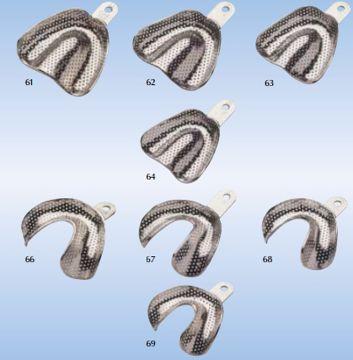 Avtrykksskjeer GC metall str 62