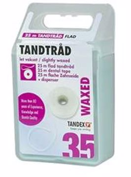 Tandex Tanntråd flat 5 m (60stk=1eske) 813405