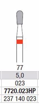 Hardmetall Freser Fig.77. 7720.023HP