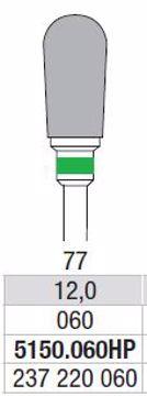 Hardmetall Freser Fig.77. 5150.060HP