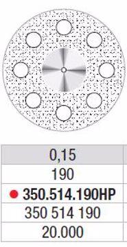 Diamand Discs 350 514 190HP