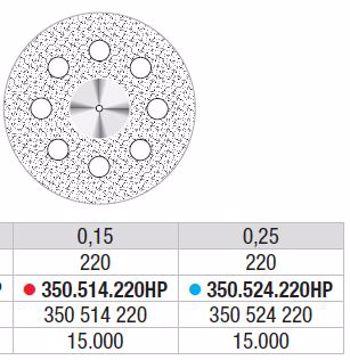 Diamand Discs 350 524 220HP