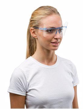Beskyttelsesskærme/brille, blå R58