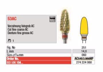 TC Cutter hardmetall Freser AC5453 060HP