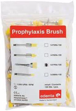 Prophylaxis Brushlets spiss point nylon gul 1476RA