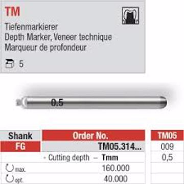 Depth Marker 0,5 TM05 FG 009