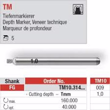 Depth Marker 1,0 TM10 FG 009