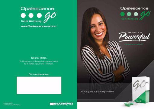 Brosyre om bleking hjemme Opalescence GO UPP230-NO