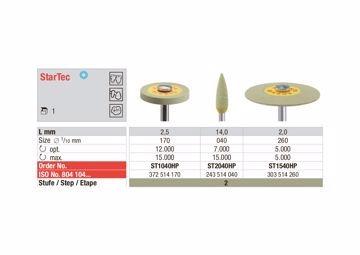 StarTec HP - yellow knife edge ST1540HP