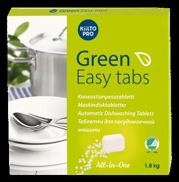 Green Easy Tabs Maskinoppvaskmiddel