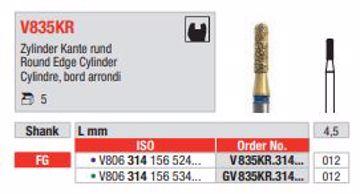 Diacut Diamant bor V835KR FG 012