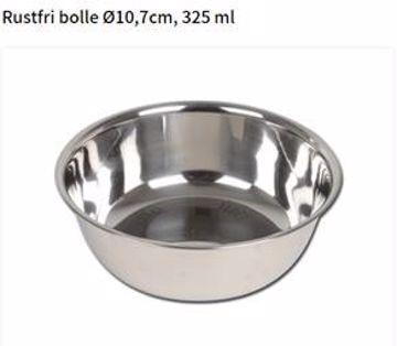 Rustfri bolle Ø10,7 cm 325ml
